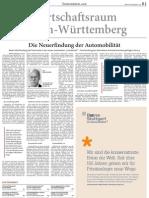 Wirtschaftsraum Baden-Württemberg