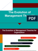 The Evolution of Management Thought(1)