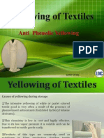 Phenolic Yellowing of Textiles