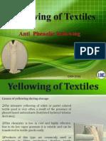 Phenolic Yellowing of Textiles