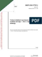 SRPS ISO 5725-1