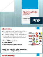 Chapter 8 -Advertising Media Selection