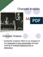 Characterization - Macbeth