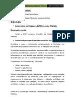 Acta Extraordinaria 21.11.12