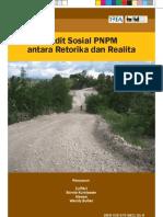 Buku Audit Sosial PNPM Antara Retorika Dan Realita, INFID - TIFA