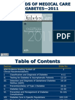 ADA Standards of Medical Care 2011