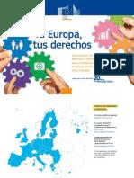 Guia sobre derechos de ciudadanos y empresas en la UE