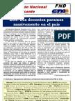 20N - FND Los Docentes Paramos Masivamente