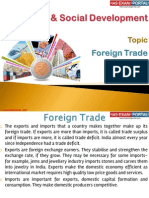 28(A) Foreign Trade