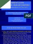 Permendagri Nomor 53 Tahun 2011 Tentang Pembentukan Produk Hukum Daerah Materi Bimtek DPRD Kabupaten/Kota Seluruh Indonesia Disampaikan oleh  Ondo Riyani