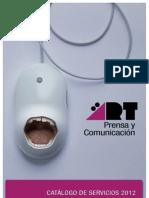 CATÁLOGO SERVICIOS ÄRT Prensa y Comunicación