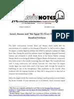 Friedman Brandon Israel Hamas Egypt Tanotes 261112