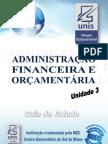 Administracao Financeira e Orcamentaria Unid3
