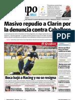 Tiempo Argentino denuncia a Clarín II