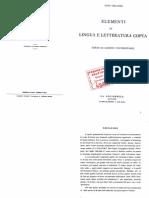 Tito Orlandi - Elementi di lingua e letteratura copta