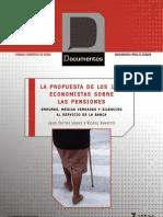 Pensiones-Propuestas de 100 Economistas