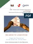 Unterrichtsmaterial Finanzkrise Entwicklungslaender Final