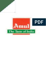 6248484 Summer Training Project Report on Amul Tarun