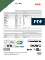 Essence Tech Sheet