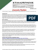 Vassula Ryden-mark Waterinckx