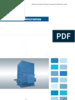 WEG Motores Sincronos 50005369 Catalogo Portugues Br