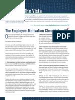 Employ Motivation List