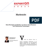 Experton Group Marktsicht; Sales-Strategien Im Zeitalter Von Cloud-, Social-Business- Und Collaboration-Technologien