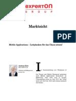 Experton Group Marktsicht; Mobile Applications – Leitplanken für das Chaos setzen!