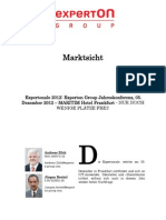 Experton Group Marktsicht; Expertonale 2012 Experton Group Jahreskonferenz, 05. Dezember 2012 -MARITIM Hotel Frankfurt ,November 2012