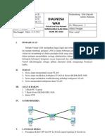 Laporan Diagnosa WAN - Konfigurasi VLAN Di Switch D-Link DES -3026