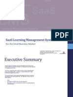 SaaS Learning Management Systems For the Small Business Market