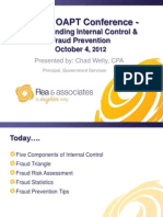 Understanding the Dynamic Relationshipo Between Internal Controls and Fraud Prevention