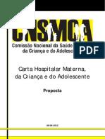 Carta Hospitalar CNSMCA 20120612