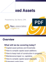 Capital Assets - Fixed Assets