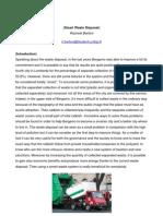 Report Smart Waste Disposal
