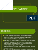 Decibel Operations