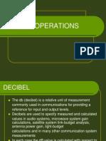 Decibel Operations
