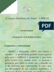 Apresentacao Aula de LIBRAS Iconicidade e Arbitrariedade