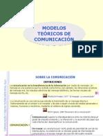 Modelos Teóricos de Comunicación