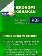 EKONOMI GERAKAN