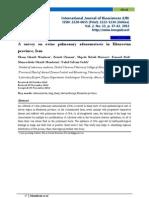 A Survey on Ovine Pulmonary Adenomatosis in Khuzestan Province, Iran