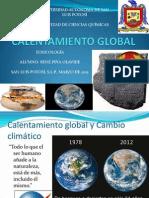 CALENTAMIENTO GLOBAL. René Piña Olavide . Toxi