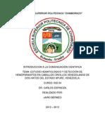 Proyecto de Aula Introduccion a La Comunicacion Cientifica.