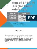 presentation for edge modulation using 8 psk