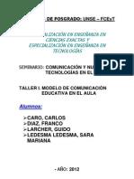 Taller I - Comunicación y Nuevas Tecnologías en el Aula