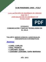 Taller II - Comunicación y Nuevas Tecnologías en el Aula