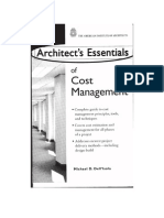 Architects Essentials of Cost Management