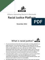 Racial Justice Platform 2012 Rsvd
