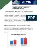 Indice de confiance du secteur Commerce :Un sentiment de lassitude