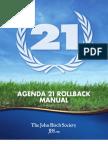 Agenda 21 Roll Back Manual